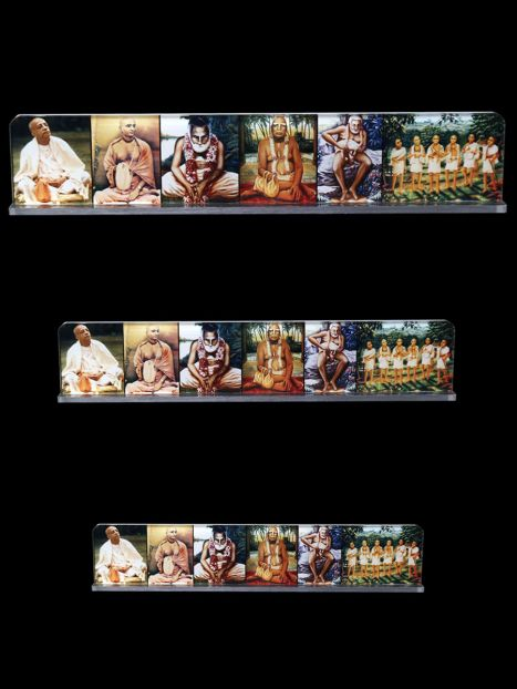 Acrylic Photo Stand 'Guru Parampara'