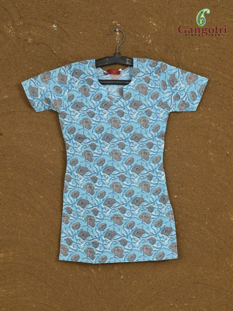 Top Cotton Printed '5-6 year'