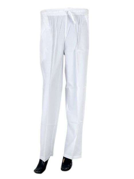 Trouser Cotton White
