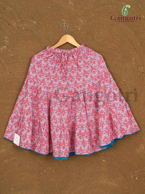Girls Cotton Skirts '6-7 Years'