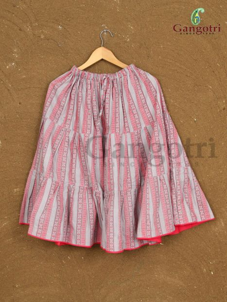 Girls Cotton Skirts '7-8 Years'