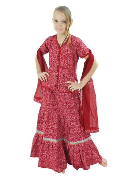 Kids Gopi Dress 1-2 Years