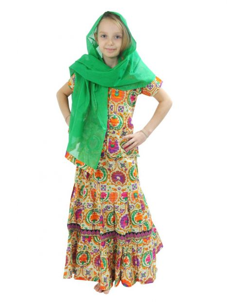 Kid's Gopi Dress 3-4 Years