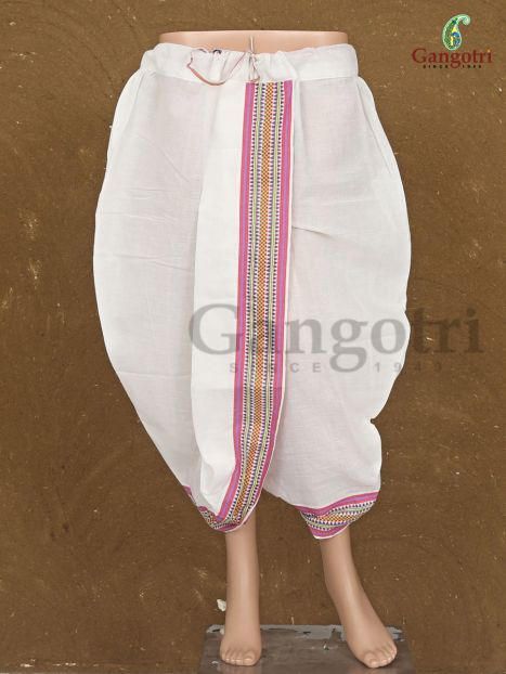 Cotton Readymade Dhoti '9-10 Years'