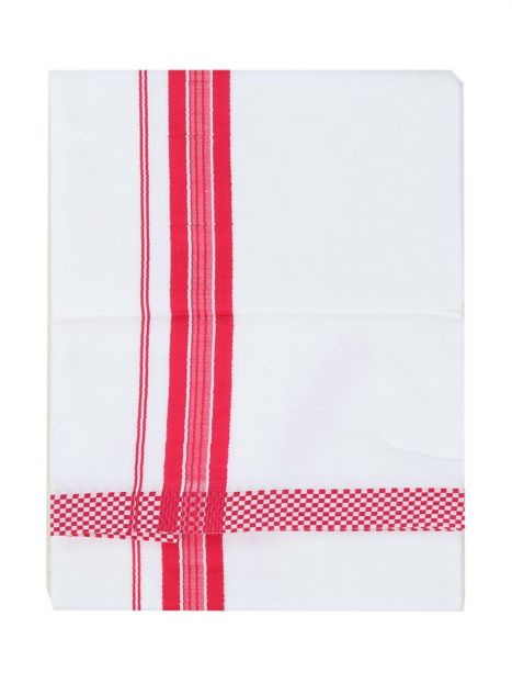Dhoti Cotton -Magenta