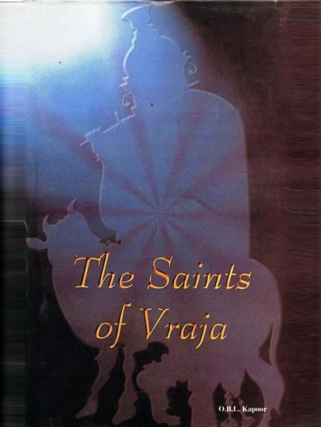 Saints Of Vraja By O.B.L. Kapoor Adikesava Das