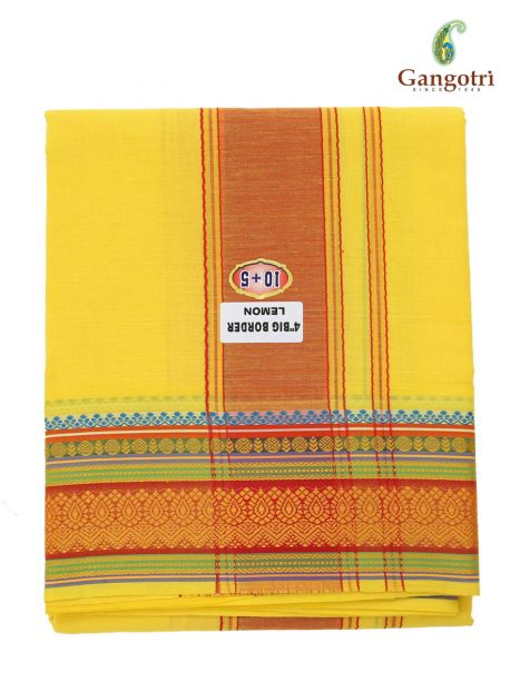 Dhoti Chadar Cotton Coloured