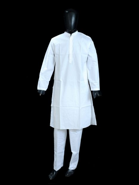 Kurta Pajama Set White