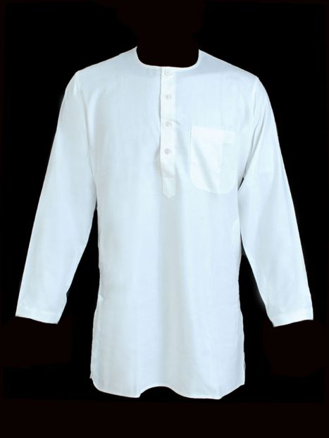Kurta Super Jute White