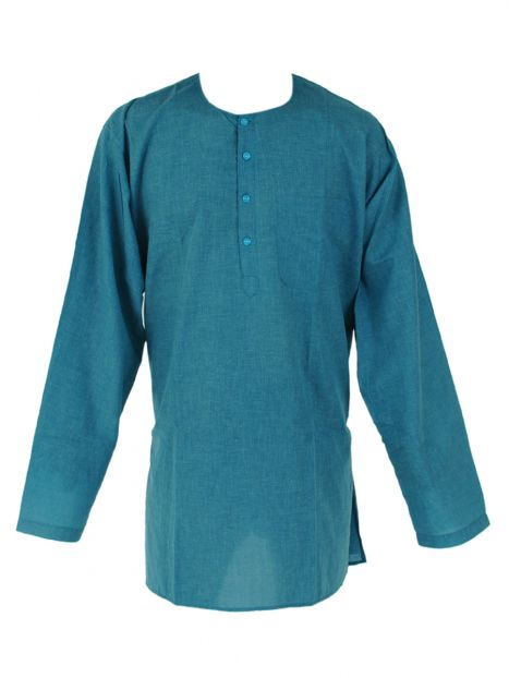 Kurta Cotton 'S' Long Sleeves