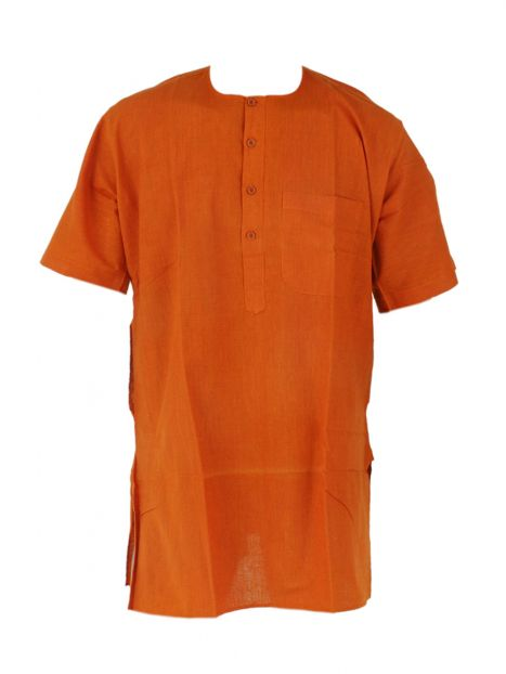 Kurta Cotton 'S' Short Sleeves