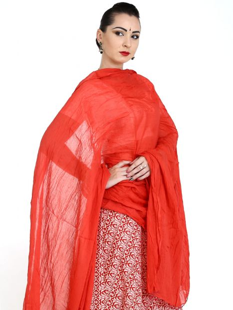 Dupatta Plain Cotton
