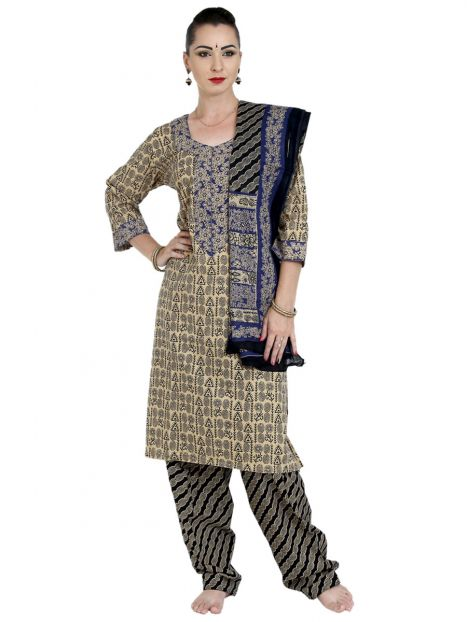 Suits Cotton Printed Large Size