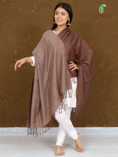 Shawl Cashmere Wool Reversible