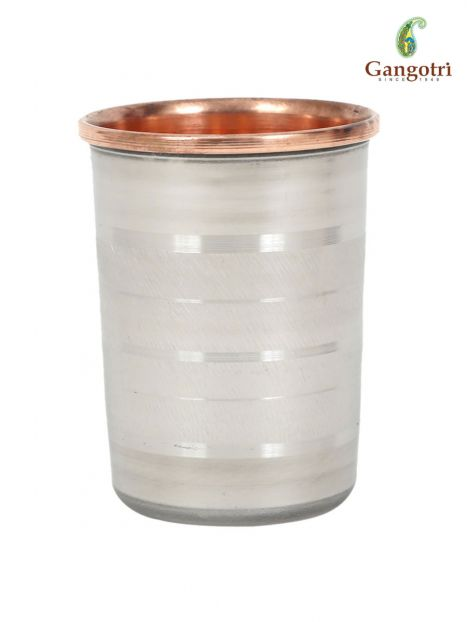 Copper Glass Silver Touch