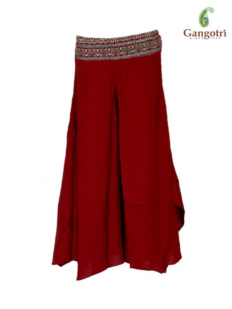 Trouser Spanish Rayon Embroidery