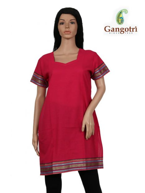 Top South Cotton 'Large' Size-Red