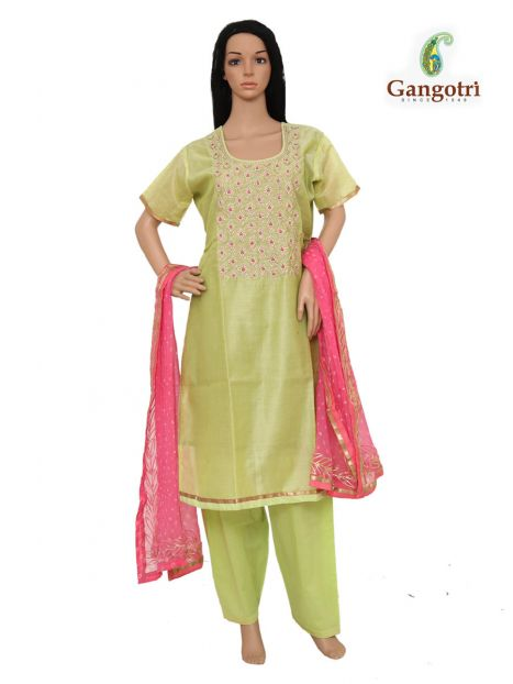 Punjabi Suit Hand Work 'Large Size'