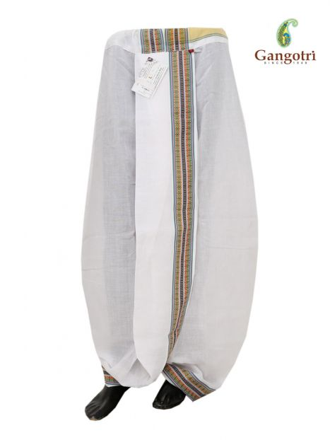 Readymade Dhoti Large Size-Multi
