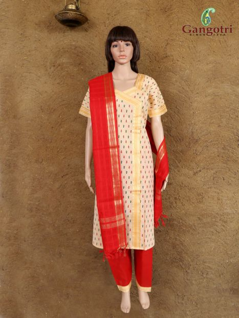 Punjabi Suit South Cotton 'Size - Large'