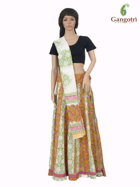 Skirt And Dupatta 'Large' Size