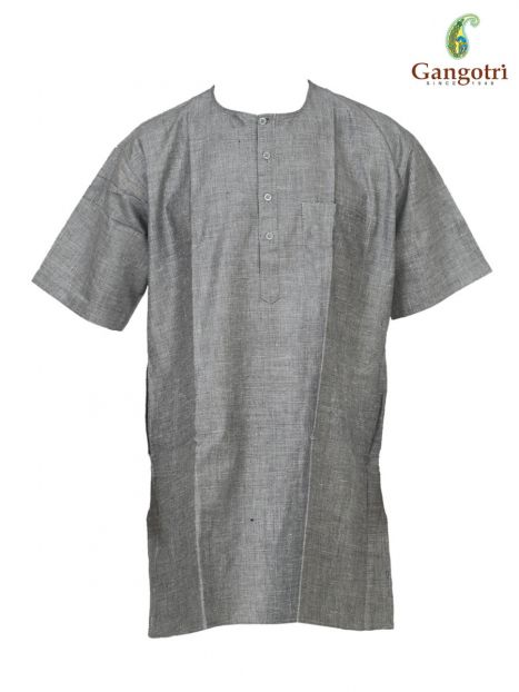 Kurta Cotton Short Sleeves 'Size - Large'