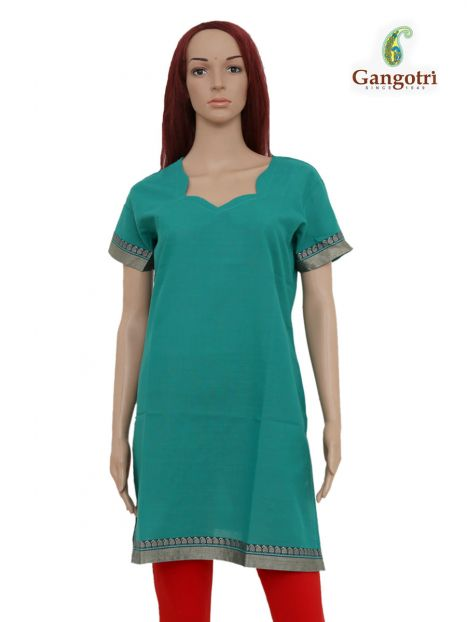Top South Cotton 'Large' Size-Green