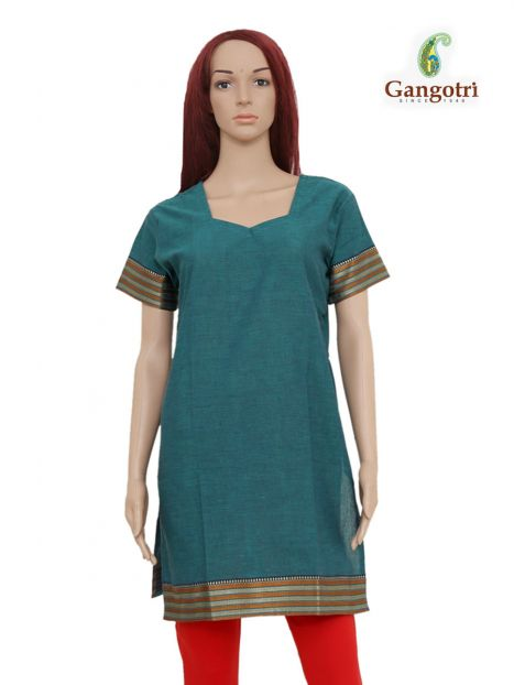 Top South Cotton 'Large' Size-Firozi