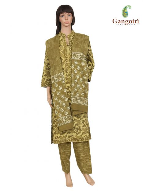 Punjabi Suit Cotton Print 'Size - Large'