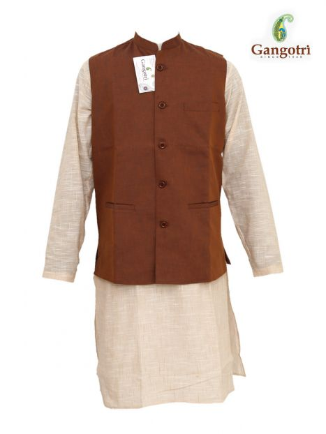 Vest Coat 'M' Size-Brown