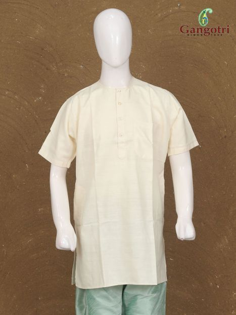 Kurta Matka Raw Silk