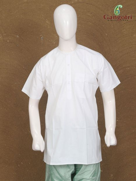 Kurta Cotton White
