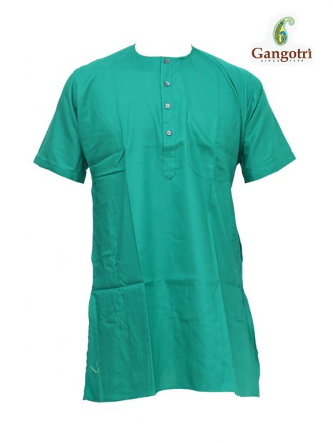 Kurta Coloured Jute 'S Short Sleeves'