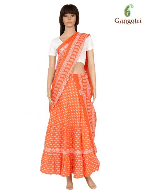 Skirt And Dupatta Set Small Size