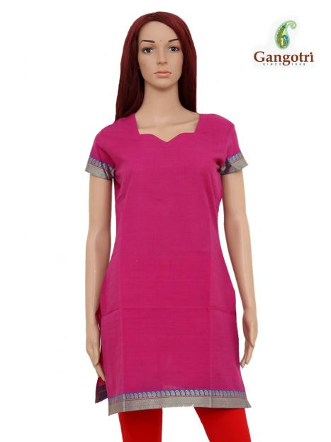 Top South Cotton 'Small' Size-Magenta