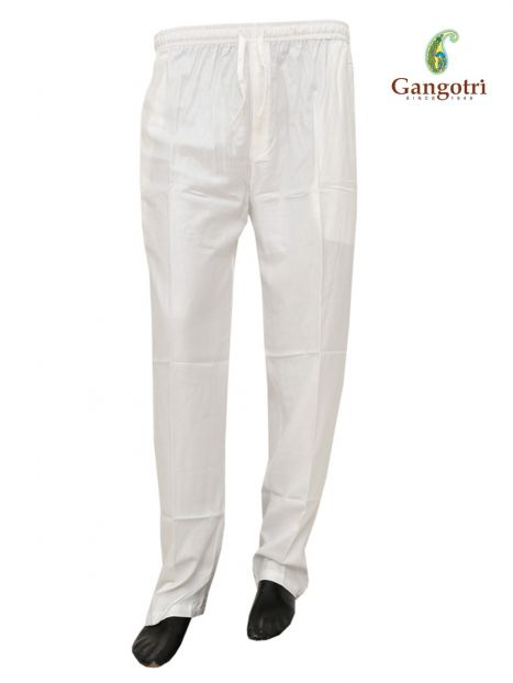 Trouser Rayon Small Size-White