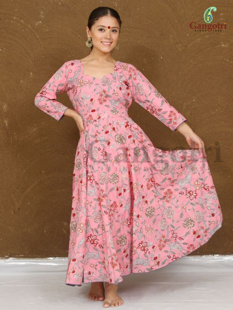 "Anarkali Dress ""Small"" Size"