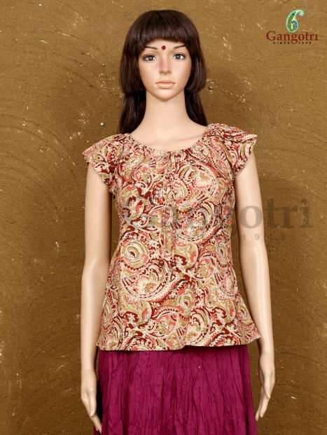 Top Printed Cotton 'Small Size'