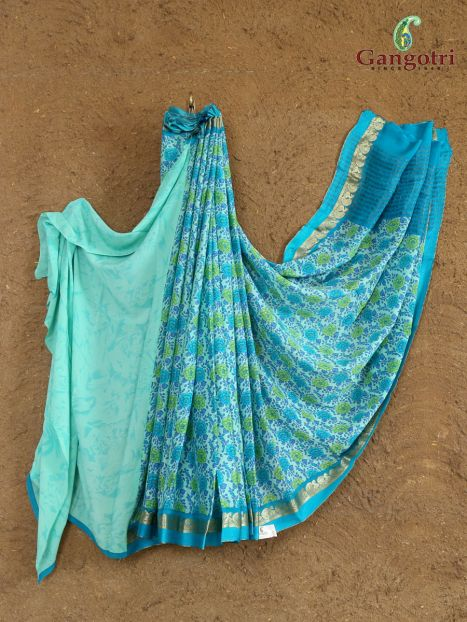 Saree Crep Silk