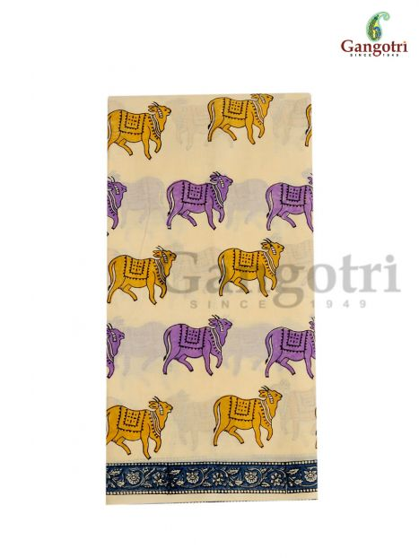 Saree Hand Block Cotton