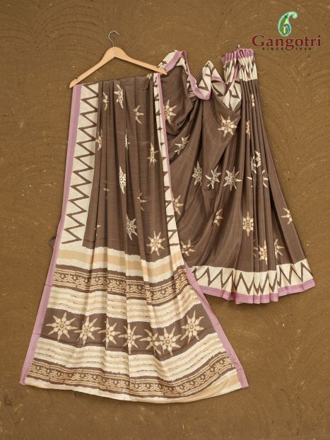 Immitation Crepe Silk Saree