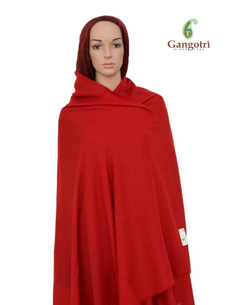 Shawl Cashmere Wool -Red