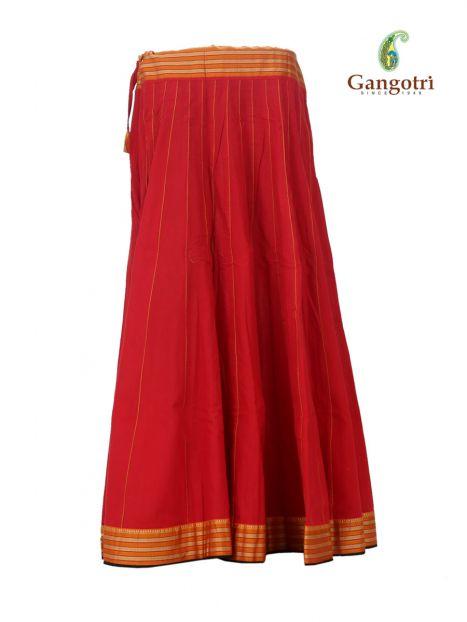 Skirt 40 Panel-Extra Large-Red