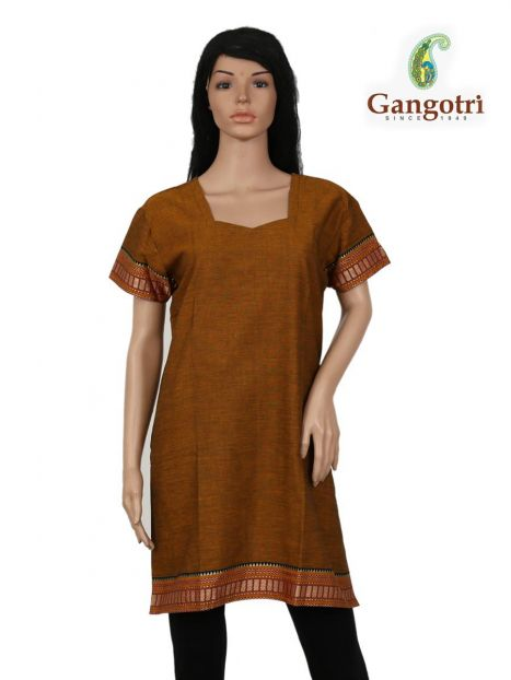Top South Cotton 'Extra Large' Size-Rust