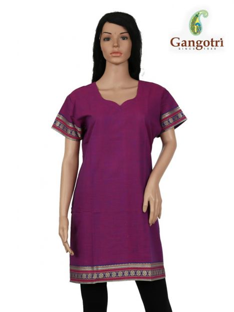 Top South Cotton 'Extra Large' Size-Purple