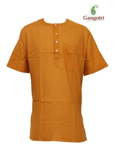 Kurta Coloured Jute 'XL Short Sleeves'