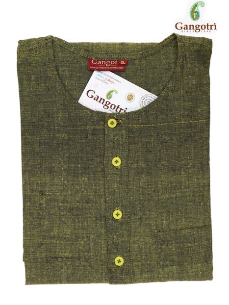 Kurta Cotton  'XL' Long Sleeves-Multi-Extra Large Long Sleeves