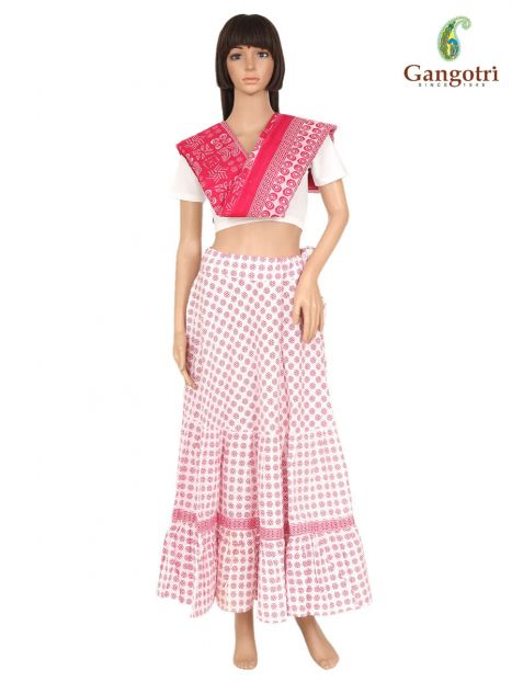 Skirt And Dupatta Set Extra Large Size