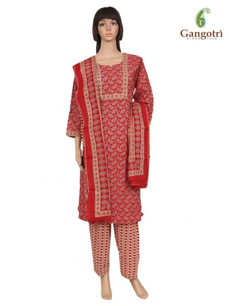 Punjabi Suit Cotton Print 'Size - Extra Large'