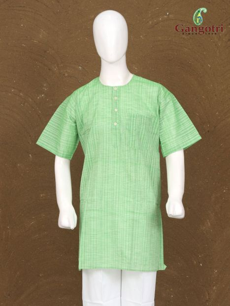Kurta Cotton Short Sleeves 'Size - Extra Large'